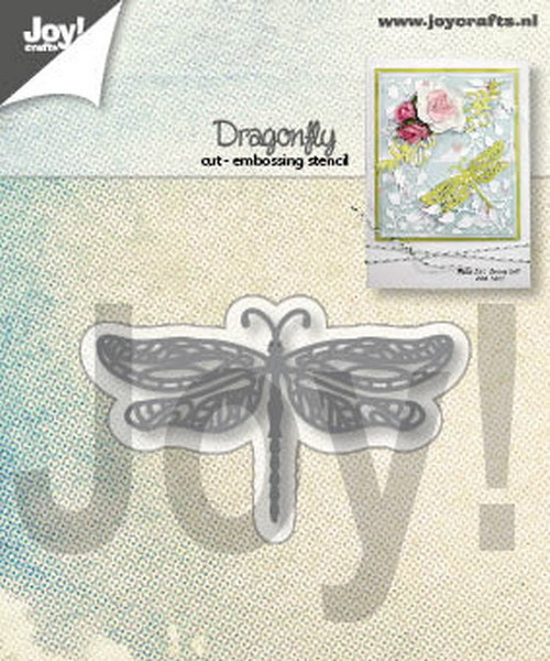 Joy! Crafts - Cutting & Embossing stencil - Libelle