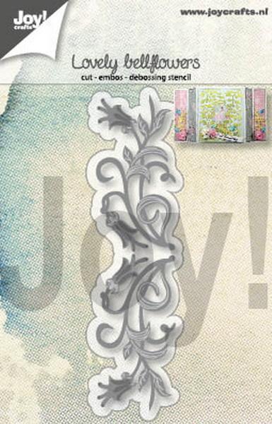 Joy! Crafts - Cutting & Embossing stencil - Lovely Bellflowers
