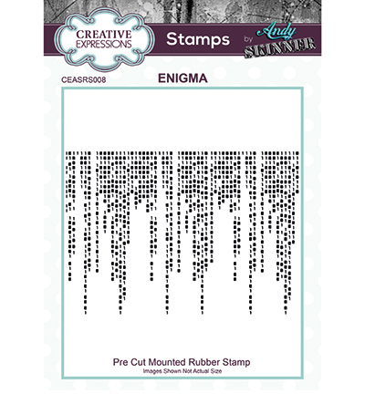 Creative Expressions - Rubber Stamp - Enigma