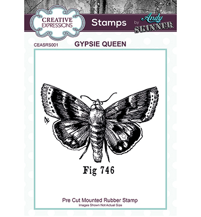 Creative Expressions - Rubber Stamp - Gypsie Queen