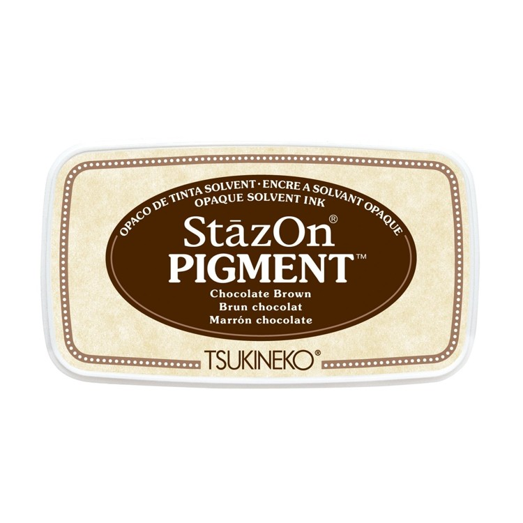StazOn Pigment Inkt - Chocolate Brown