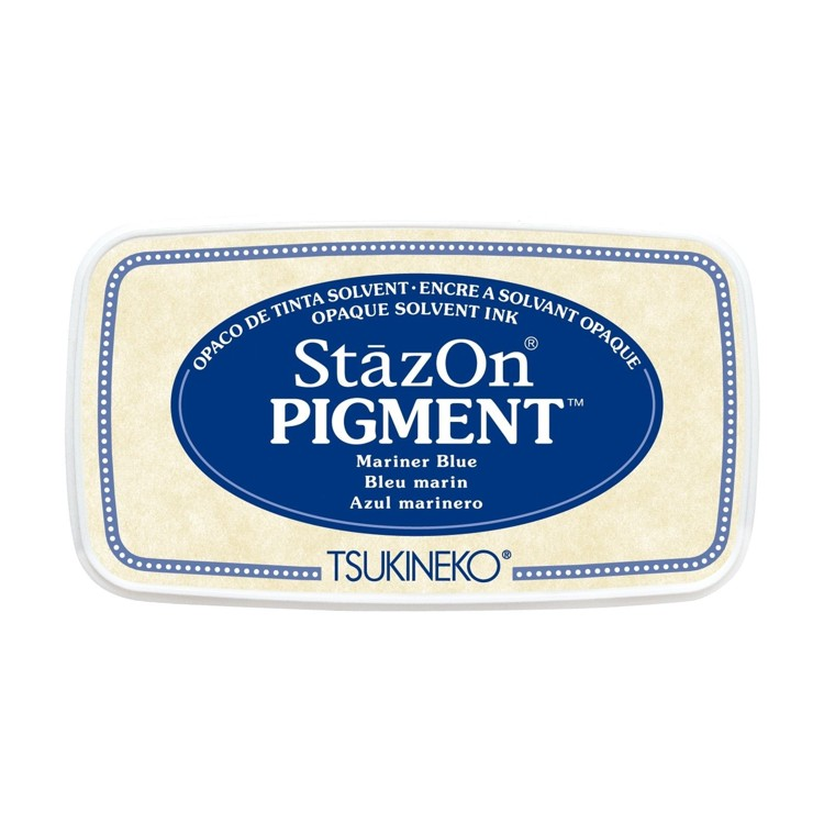 StazOn Pigment Inkt - Mariner Blue