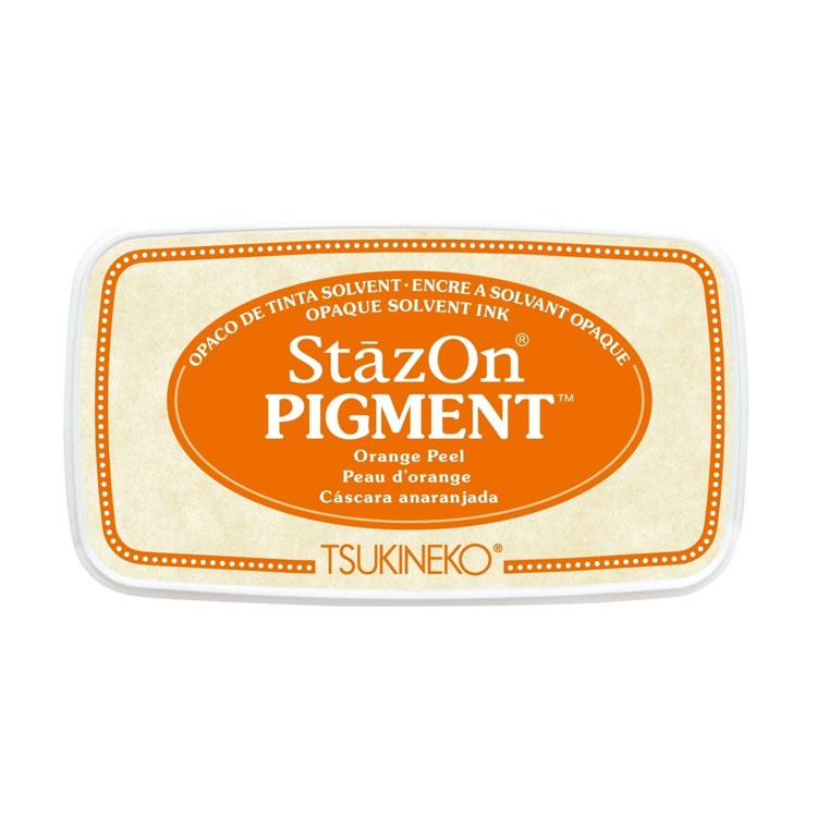 StazOn Pigment Inkt - Orange Peel