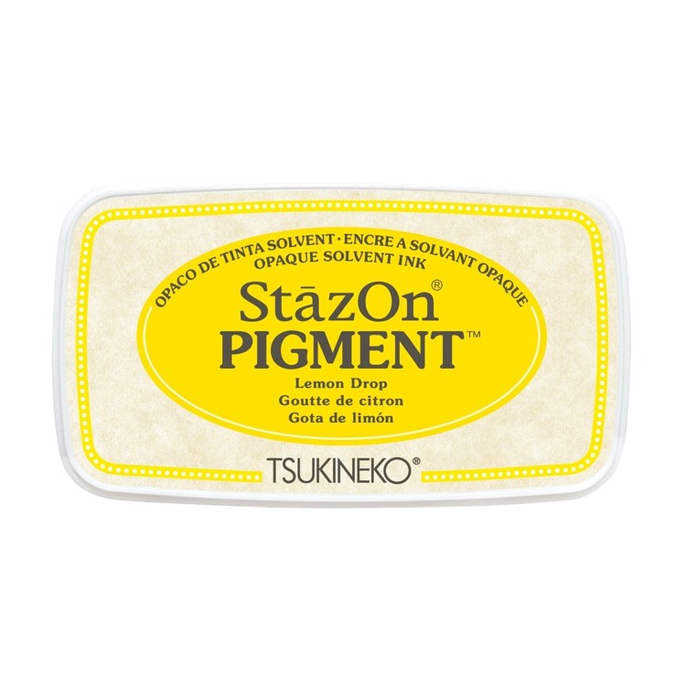 StazOn Pigment Inkt - Lemon Drop