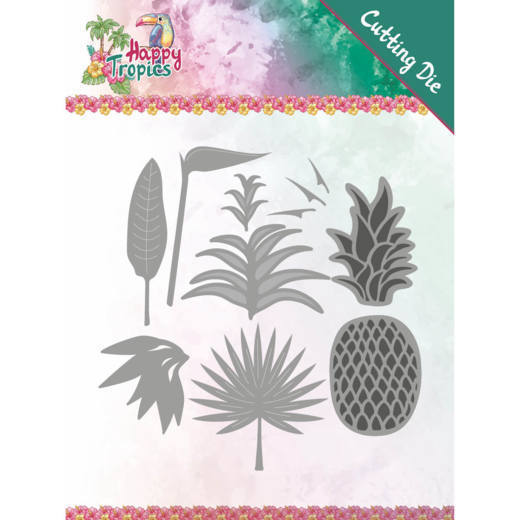 Stansmal Yvonne Creations - Happy Tropics - Lush Leaves
