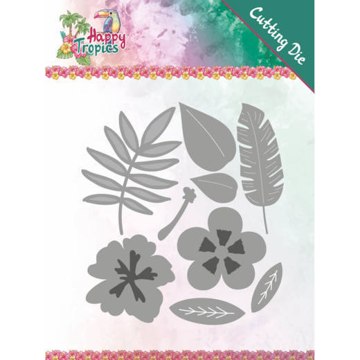 Stansmal Yvonne Creations - Happy Tropics - Tropical Blooms