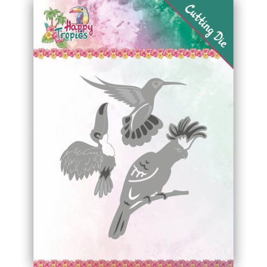 Stansmal Yvonne Creations - Happy Tropics - Exotic Birds