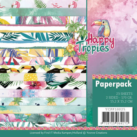 Paperpack - Yvonne Creations - Happy tropics