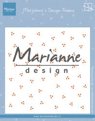 Marianne Design - Embossing Folder - Marjoleine's dots