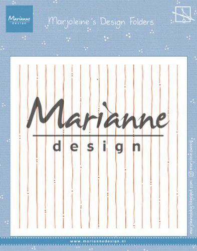 Marianne Design - Embossing Folder - Marjoleine's Stripes