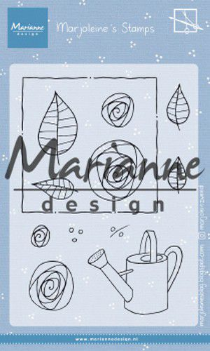 Marianne Design - Clearstamps - Marjoleine's roses