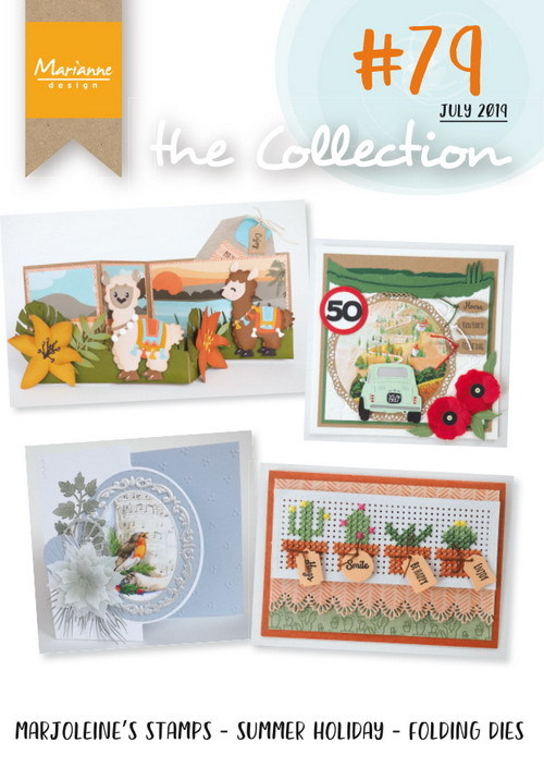 Marianne Design - Tijdschrift The Collection - #79