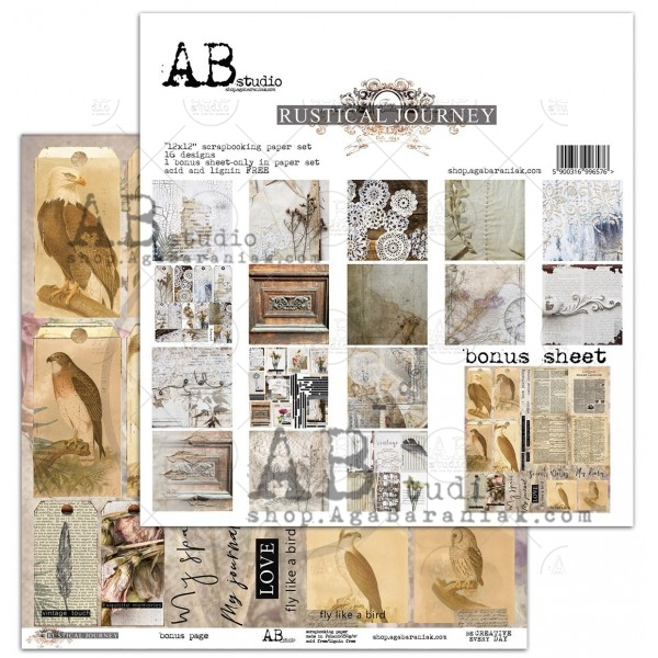 Collection Kit - AB Studio - Rustical Journal