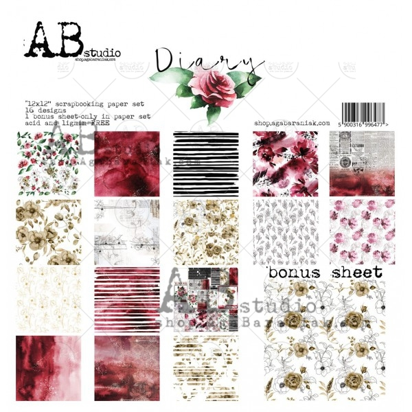 Collection Kit - AB Studio - Diary