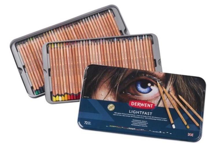 Derwent - Lightfast - Blik 72 potloden