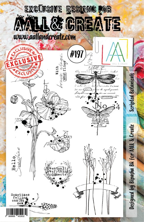 AALL & CREATE - Clearstamp A5 - Set number 197