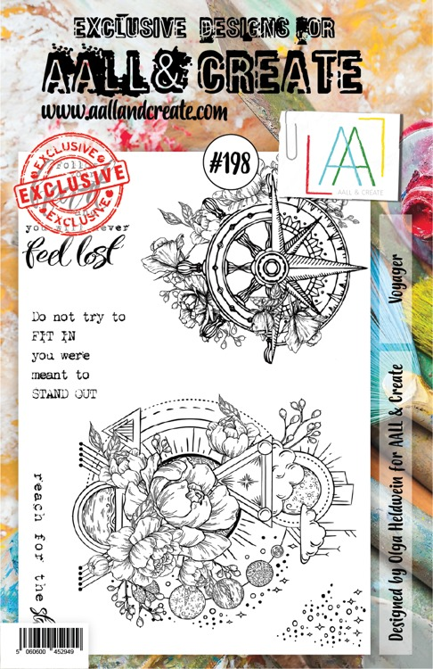 AALL & CREATE - Clearstamp A5 - Set number 198