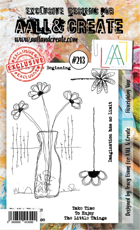 AALL & CREATE - Clearstamp A6 - set number 213