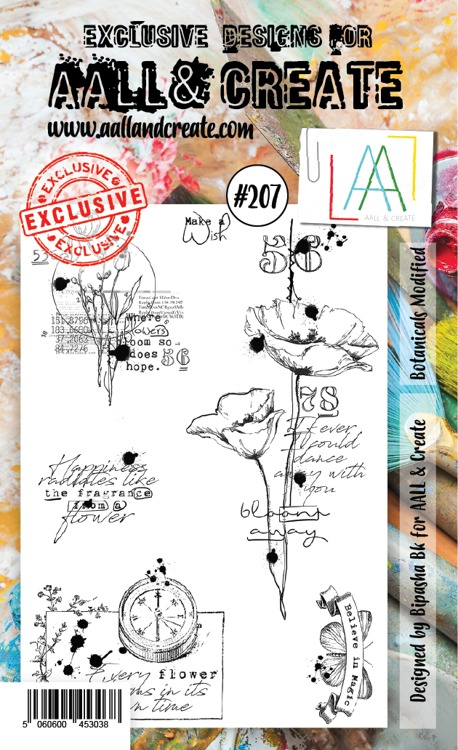 AALL & CREATE - Clearstamp A6 - set number 207