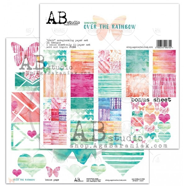 Collection Kit - AB Studio - Over the Rainbow
