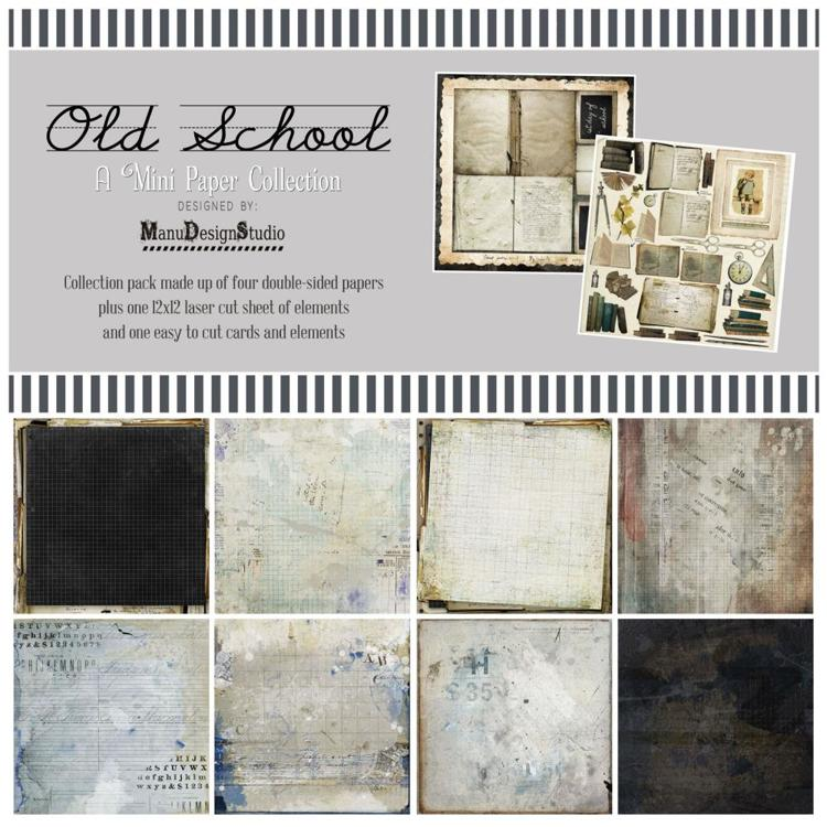 "49 And Market - Collection Pack 12""X12"" - Old School"