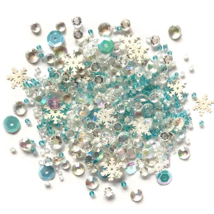 Sparkletz - Embellishment Pack 10g - Snow Crystals