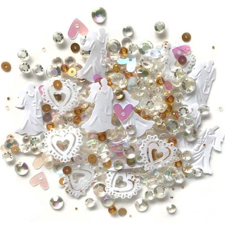 Sparkletz - Embellishment Pack 10g - Just Married