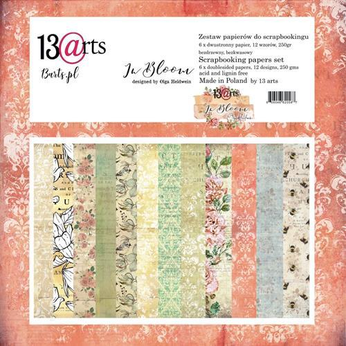 13@rts - Paper Collection Set - In Bloom by Olga Heldwein