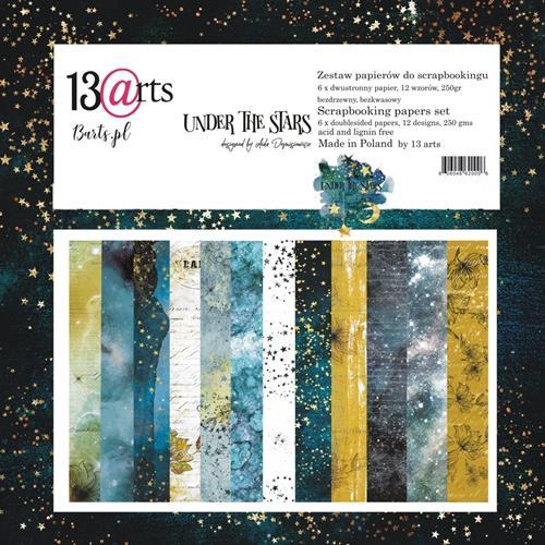 13@rts - Paper Collection Set - Under the Stars by Aida Domisiewicz