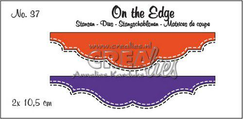 Stansmal Crealies - On the Edge - no 37