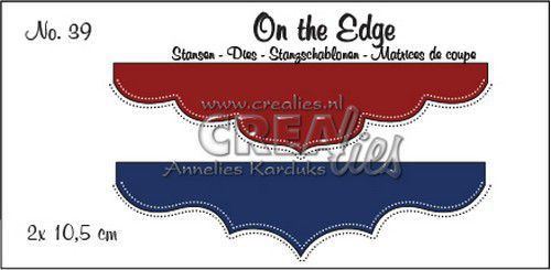 Stansmal Crealies - On the Edge - no 39
