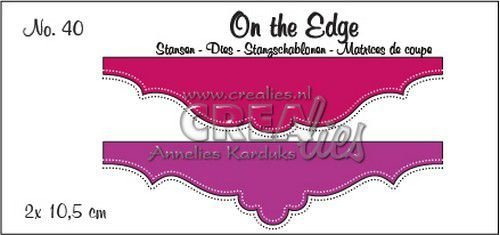 Stansmal Crealies - On the Edge - no 40