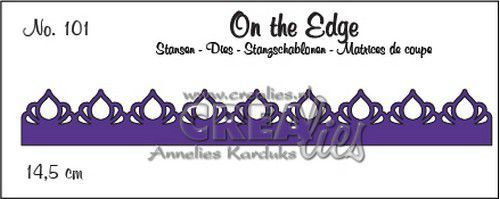 Stansmal Crealies - On the Edge - no. 101 pattern A