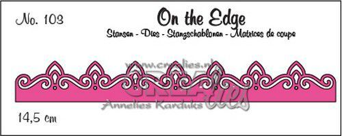 Stansmal Crealies - On the Edge - no. 103 pattern C
