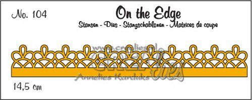 Stansmal Crealies - On the Edge - no. 104 pattern D