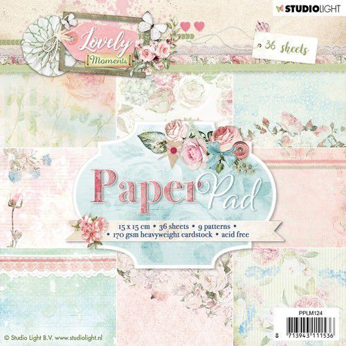 Paperpad Studio Light - Lovely Moments - PPLM124