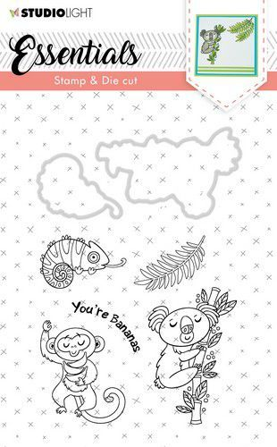 Studio Light - Stamp & Die Cut Set - Essentials Animals nr 29