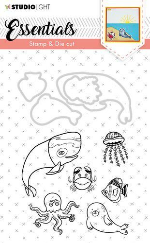 Studio Light - Stamp & Die Cut Set - Essentials Animals nr 31
