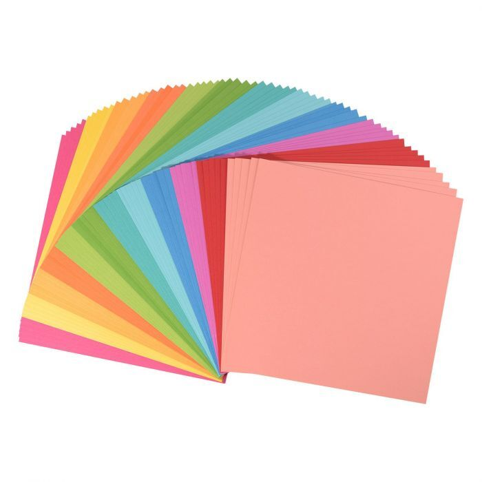 Florence Cardstock - Smooth (glad) 216 gr) - Collection kit Brights (12x5vel)