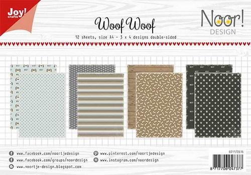 Noor! Design - Paperpad A4 - WoofWoof