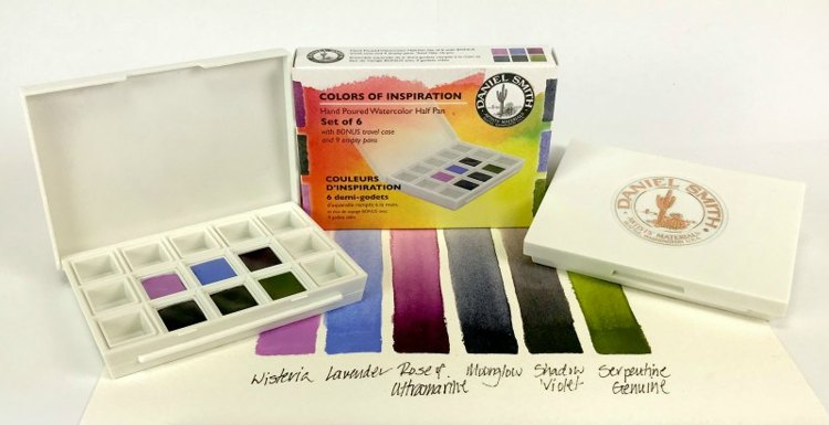 Daniel Smith Watercolor - Set of 6 - Colors of Inspiration
