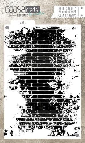 Clearstamp Coosa Crafts - Wall COC-040