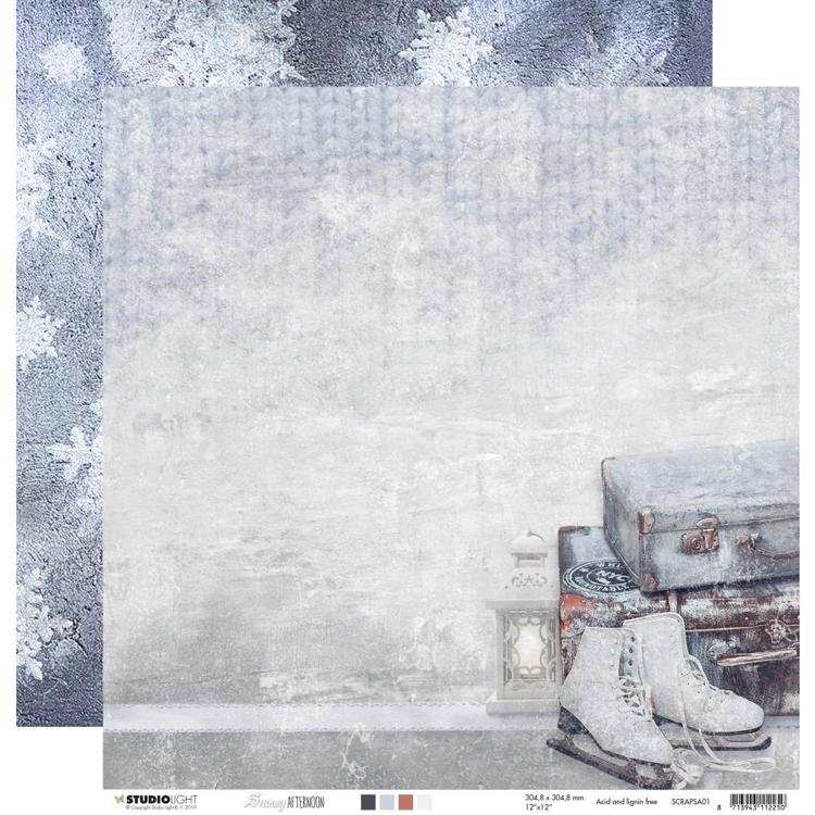 Studio Light - Snowy Afternoon - Scrapvel SCRAPSA01