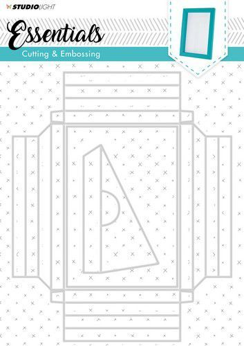 Studio Light - Embossing Big Frame Dies - Essentials STENCILSL209