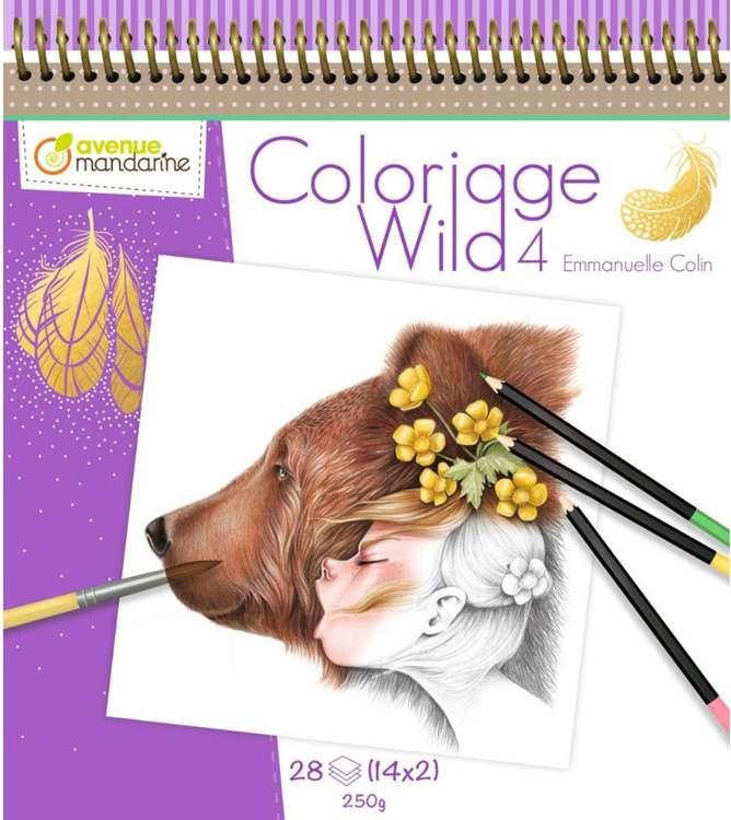 Kleurboek - Coloriage Wild door Emmanuelle Colin - deel 4