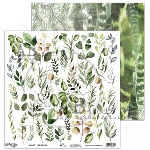 AB Studio - Elements for Cutting - Leafy Paradise