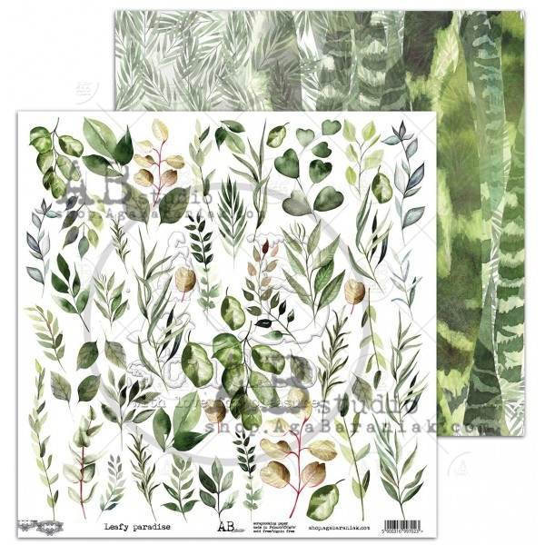AB Studio - Elements for Cutting - Leafy Paradise