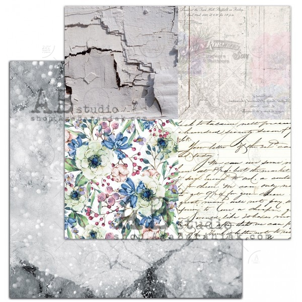 AB Studio - Elements for Cutting - Enchanted Flowers / Past forgiven
