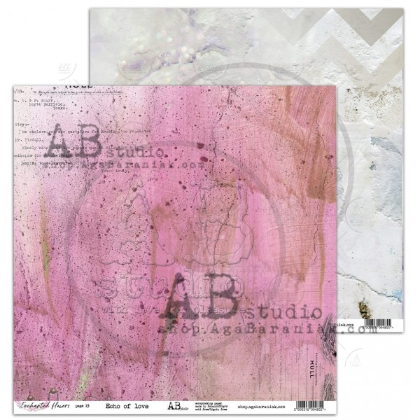 AB Studio - Elements for Cutting - Enchanted Flowers / Echo of Love