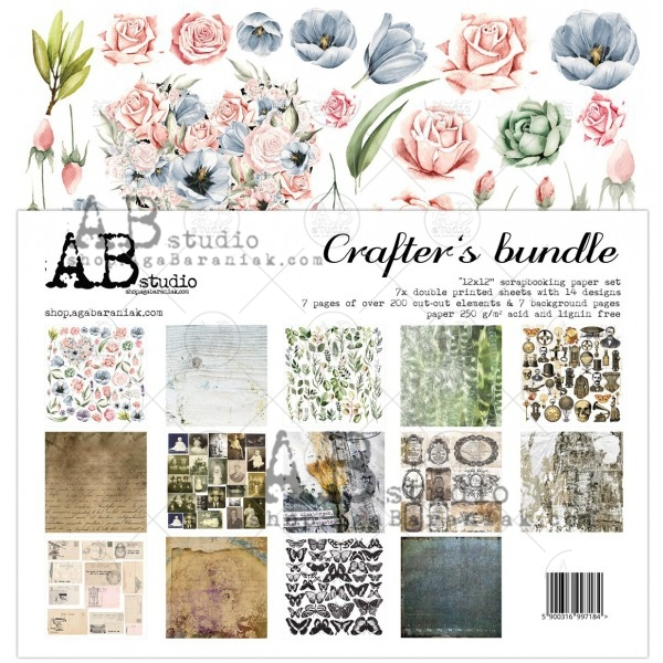Collection Kit - AB Studio - Crafter's Bundle Cutting Sheets